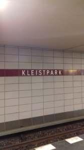 Kleistpark ubahn