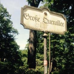 tiergarten sign